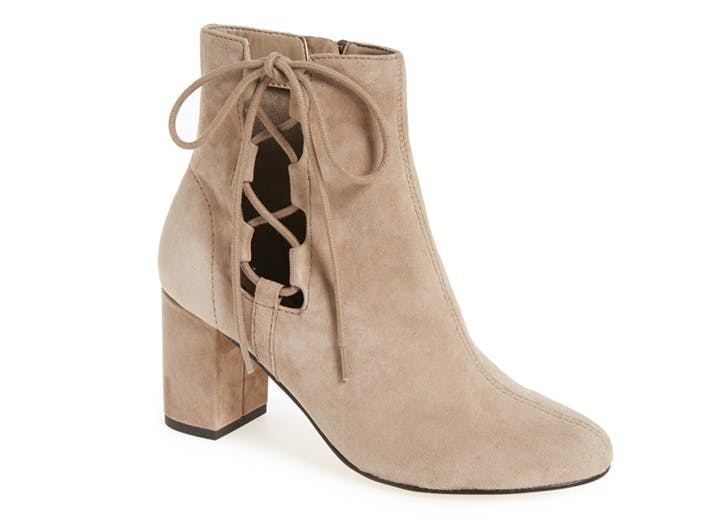 statement boots suede