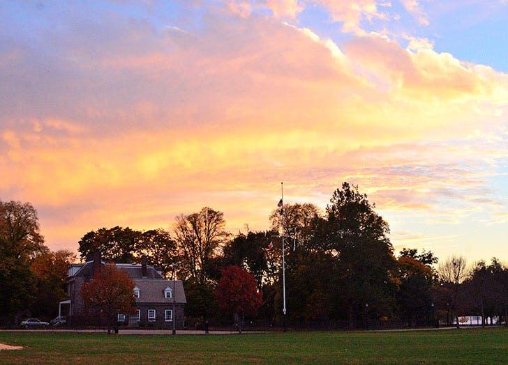 van cortlandt park sunset 728