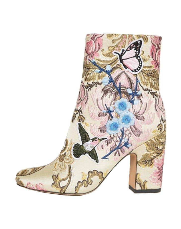 wedding shoes asos booties1