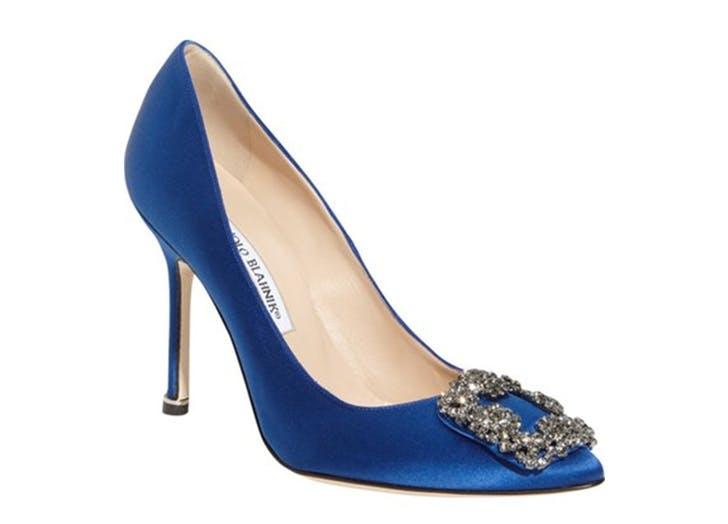 wedding shoes blahnik