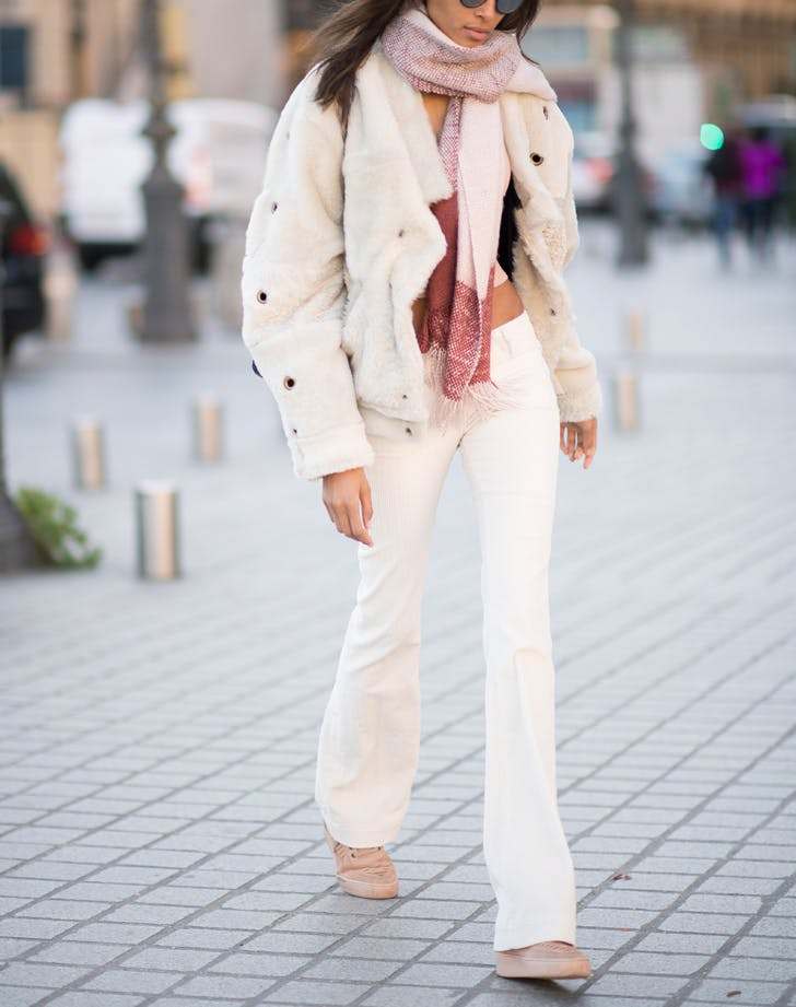 9 New Ways to Wear White Pants in the Winter - PureWow