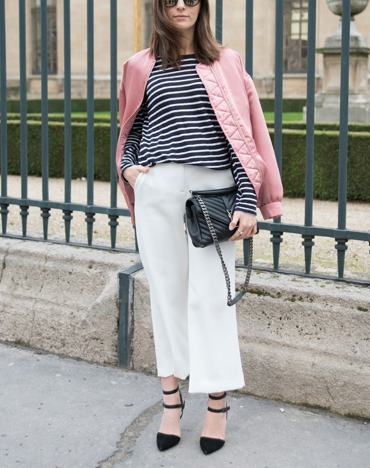 How To Wear White Pants In Winter R976cxFO