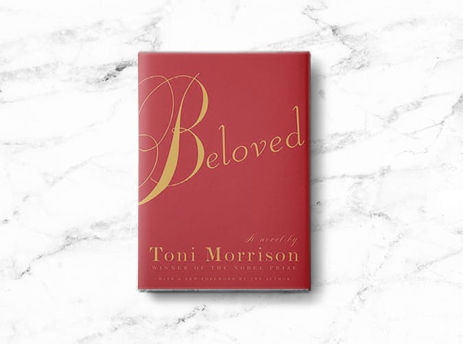 woman books beloved morrison