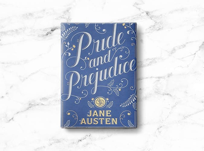 woman books pride prejudice
