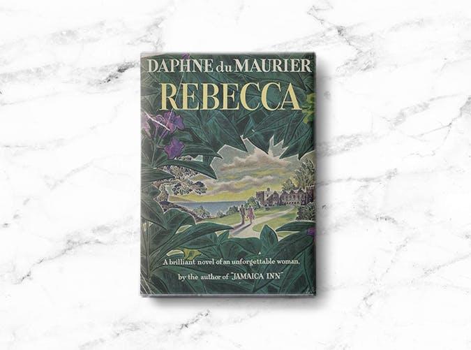 woman books rebecca