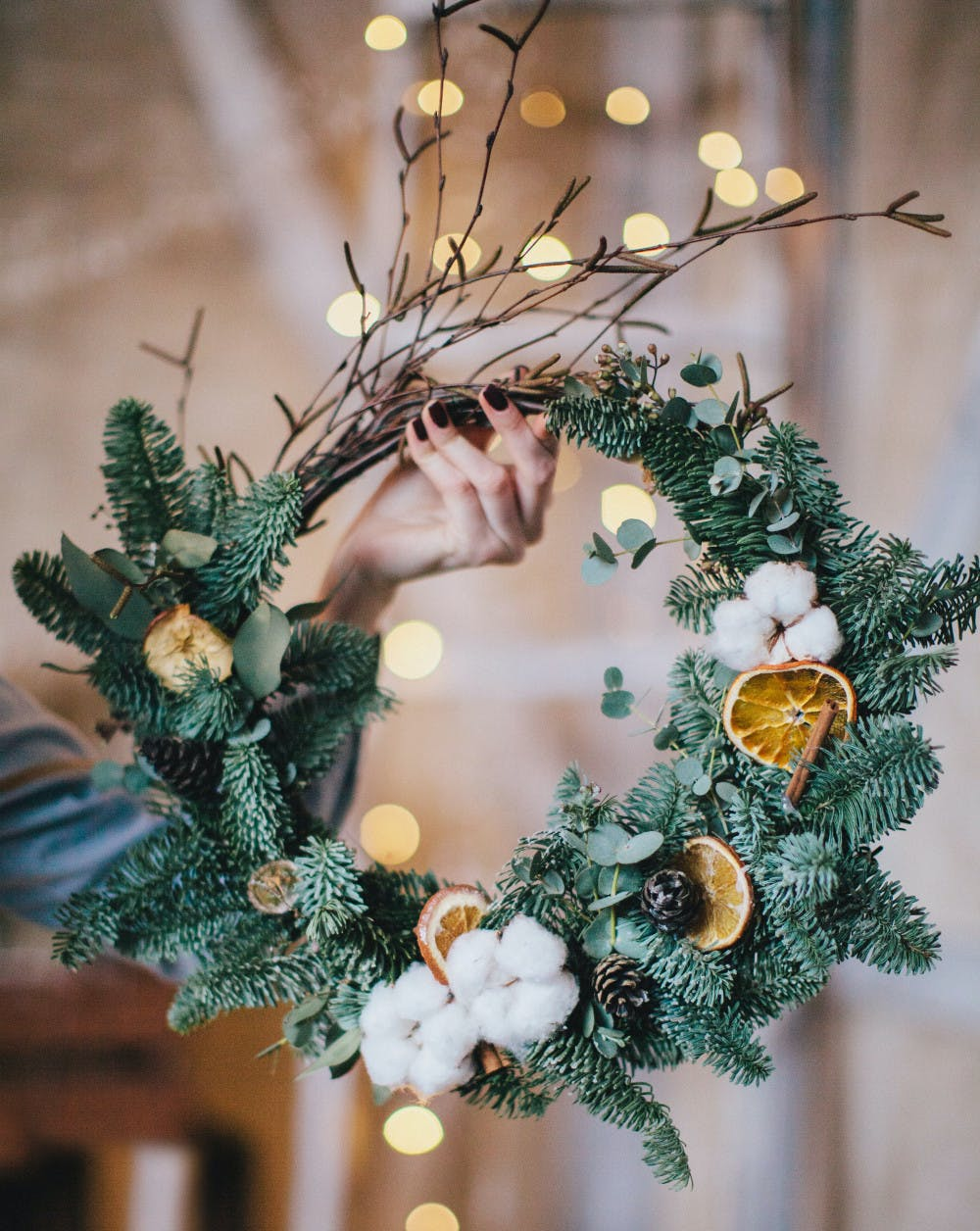 wreath making class  san francisco holiday guide 2016