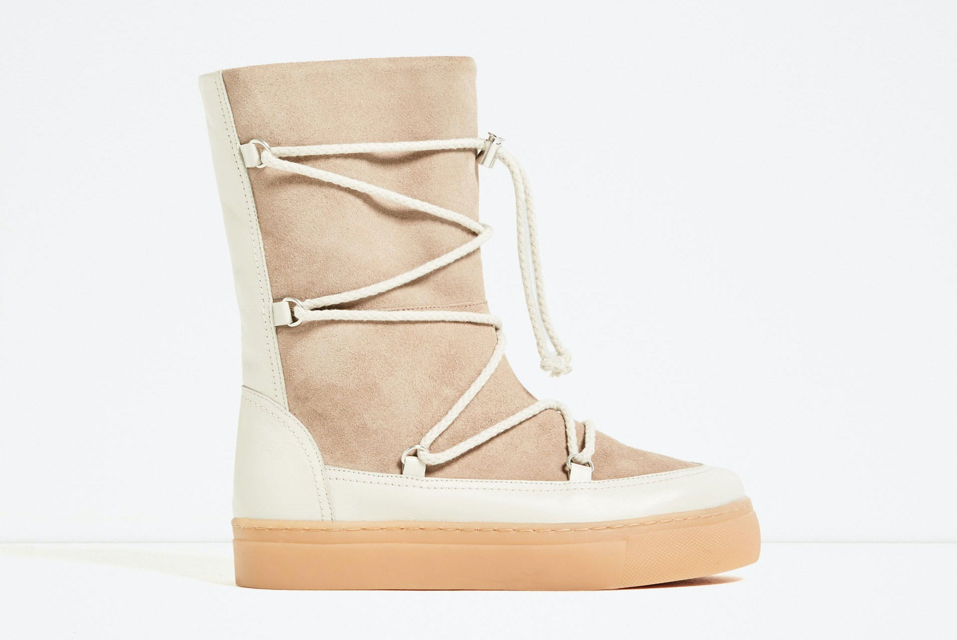 zara chicago winter boots