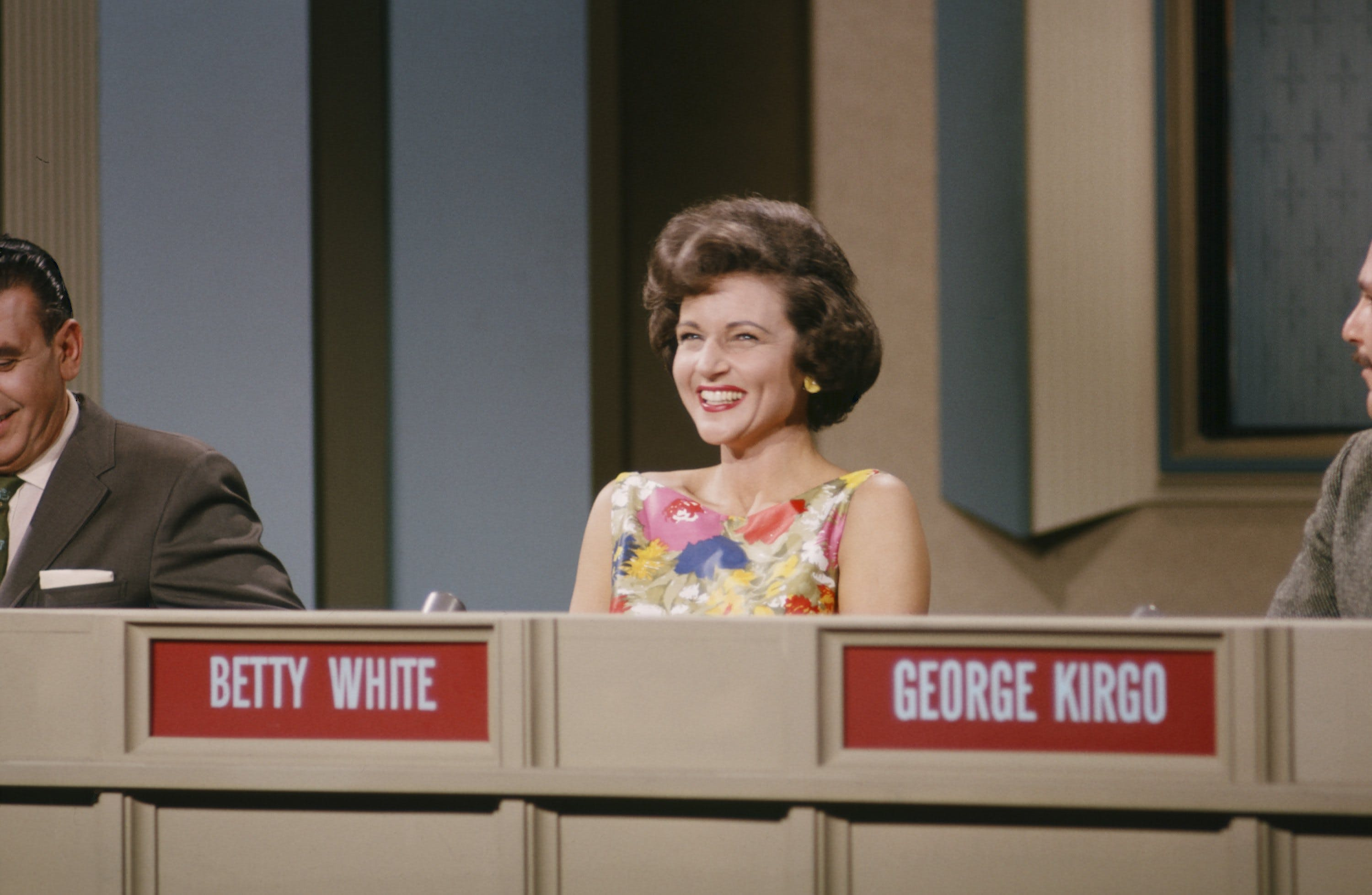1963 as a celebrity guest on a game show  age 41