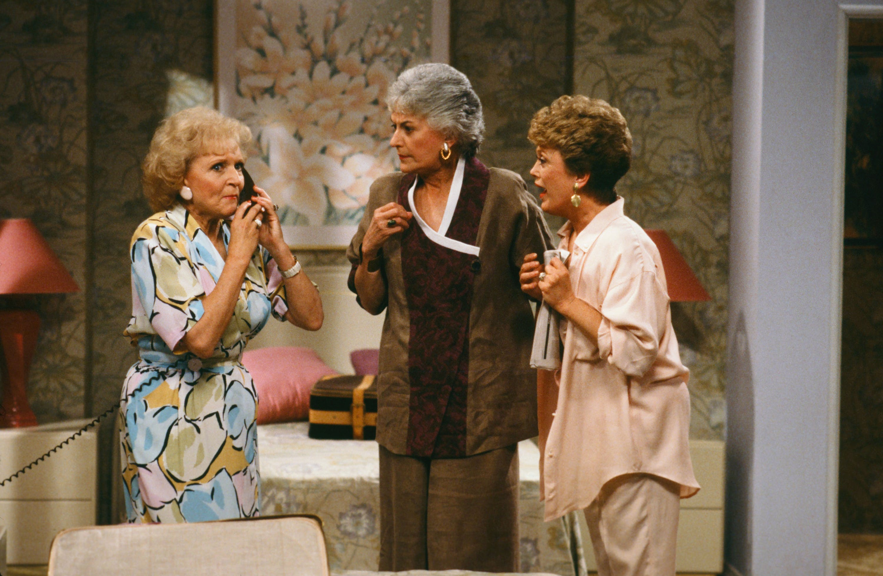 1986 a still from The Golden Girls  age 64