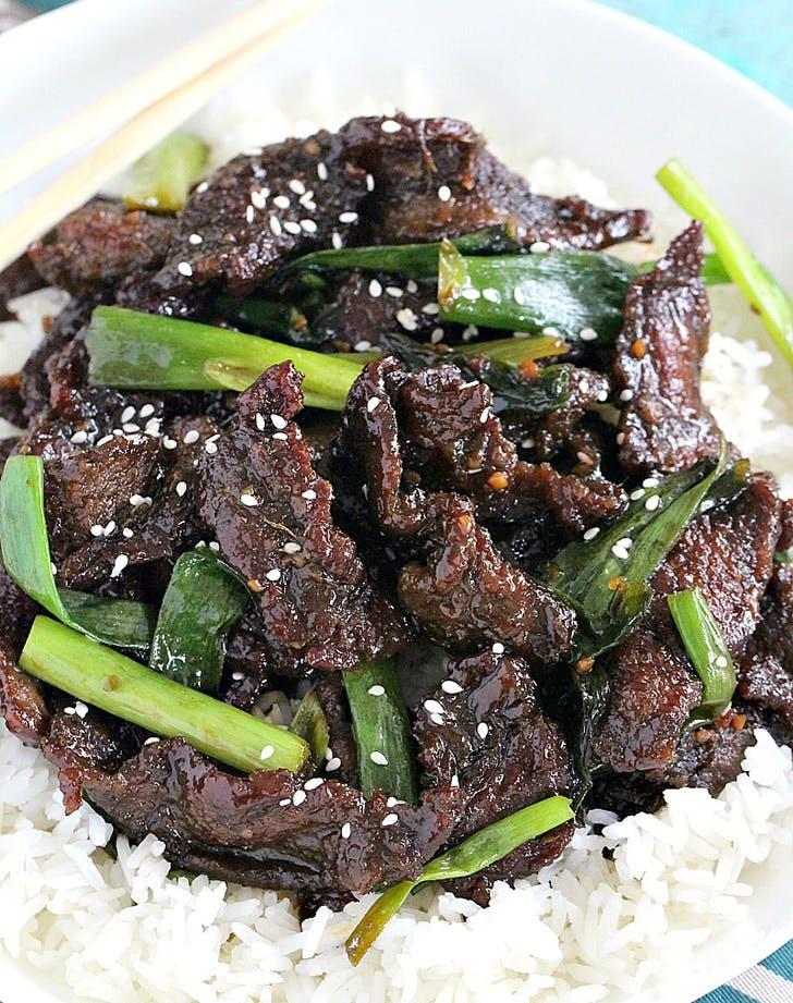 30min dinner mongolianbeef