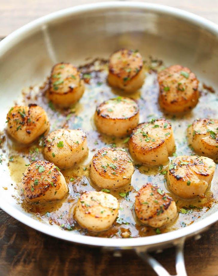 30min dinner scallops