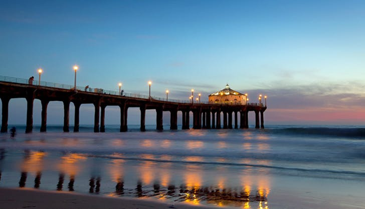 Los Angeles Landmarks Manhattan Beach Pier 728x418
