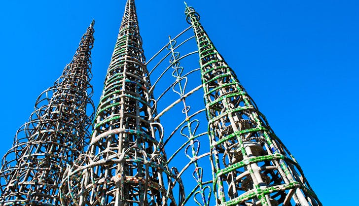 Los Angeles Landmarks Watts Towers 728x418