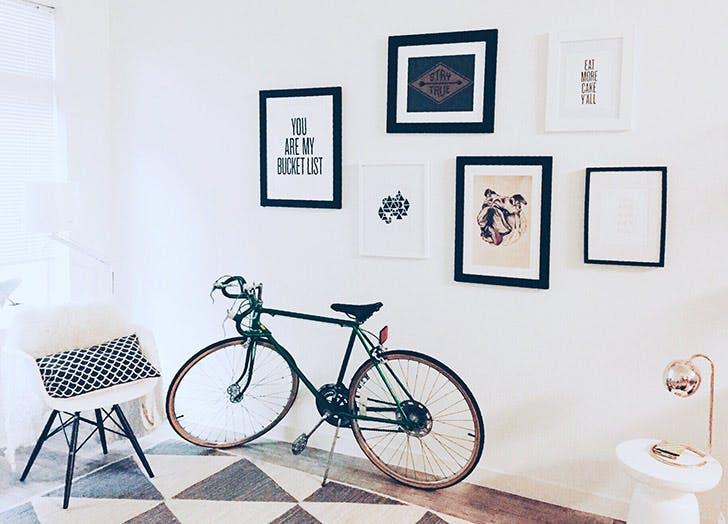 apartment storage bike NY