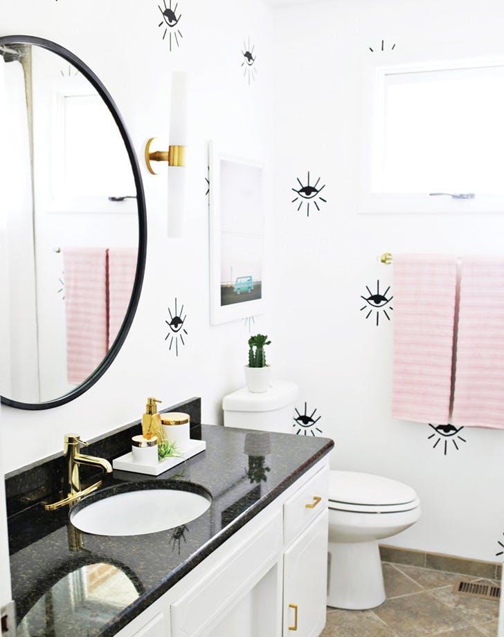 bathroom refresh wallpaper