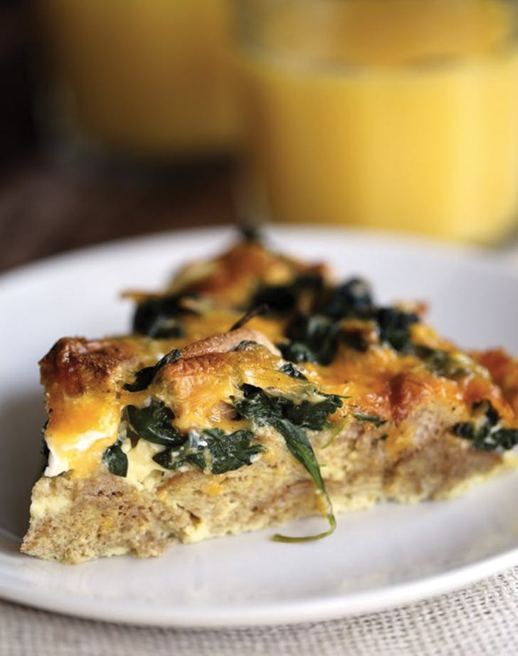 casserole spinach cheese 5