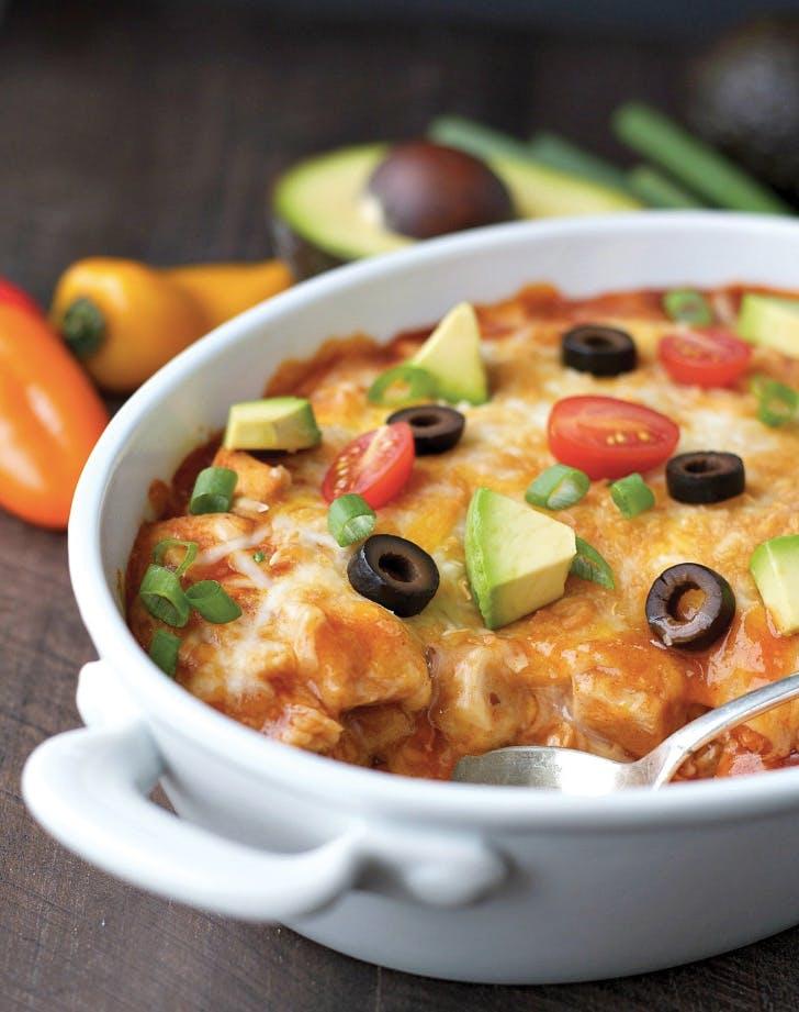 casseroles chicken enchilada 1