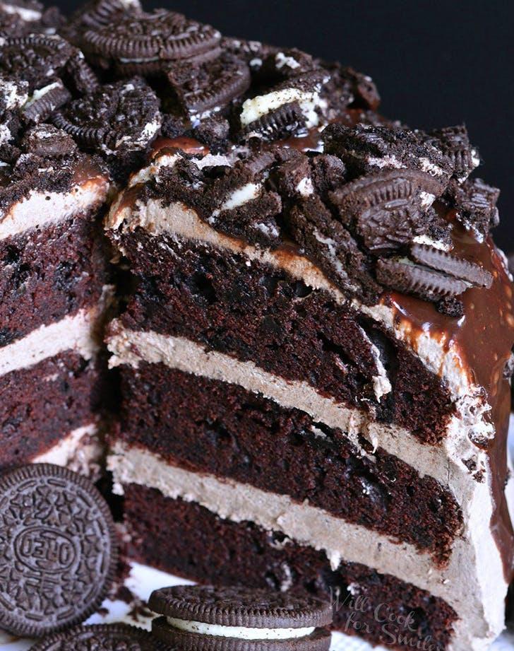 chocolatecake oreo