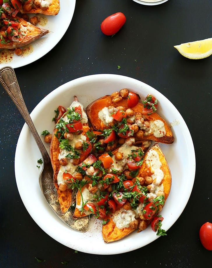 clean mediterraneanpotatoes