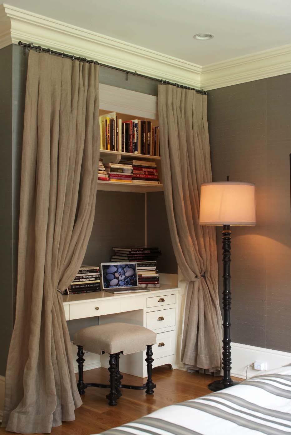 closet desk la zen room