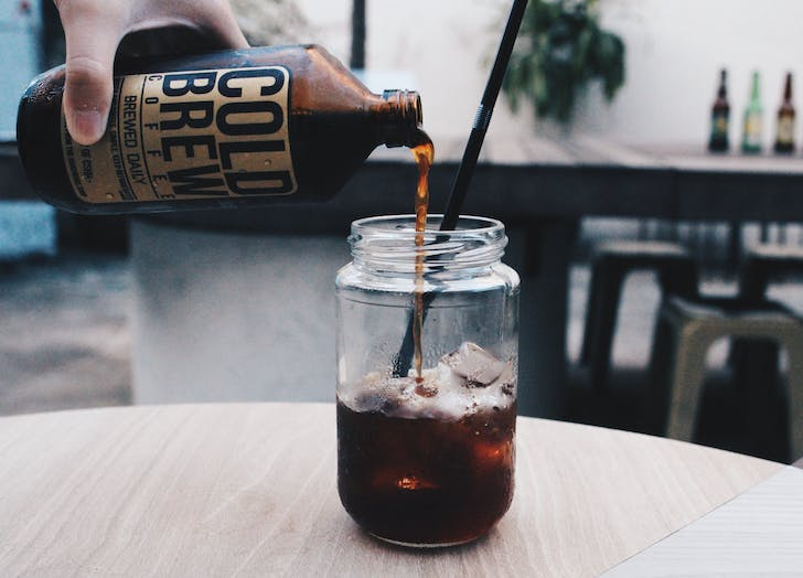 coffee orders cold brew