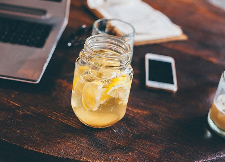 crash diet lemon water