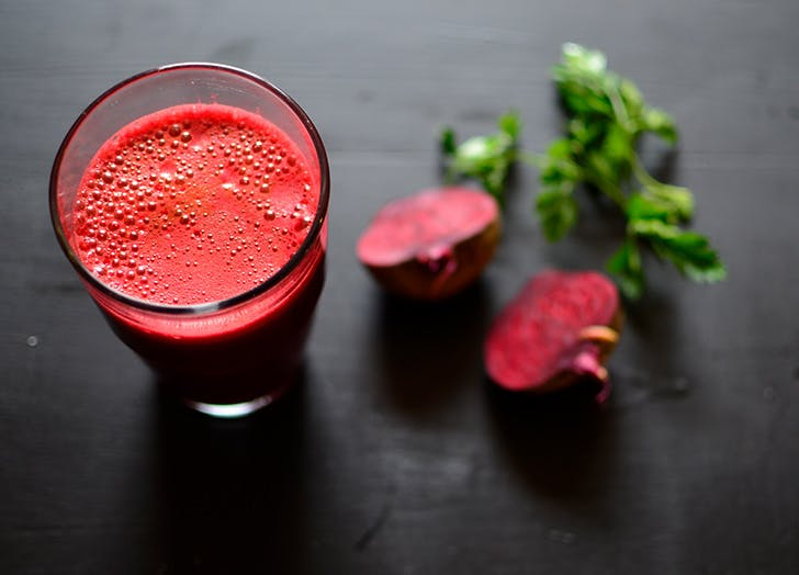 crash diets beet juice