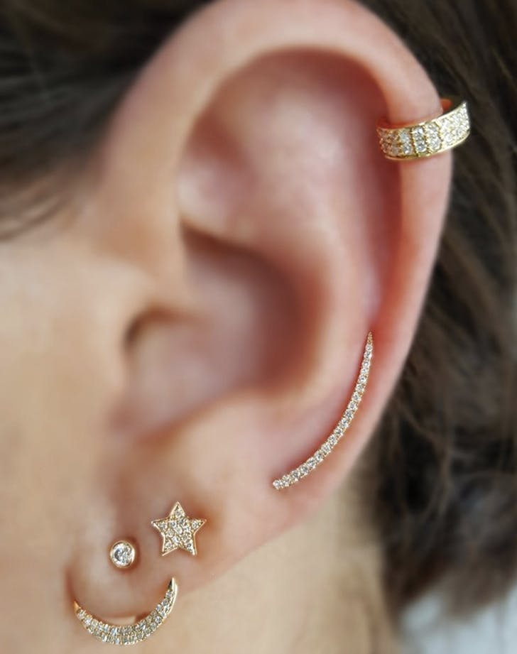 How to Stack Your Earrings