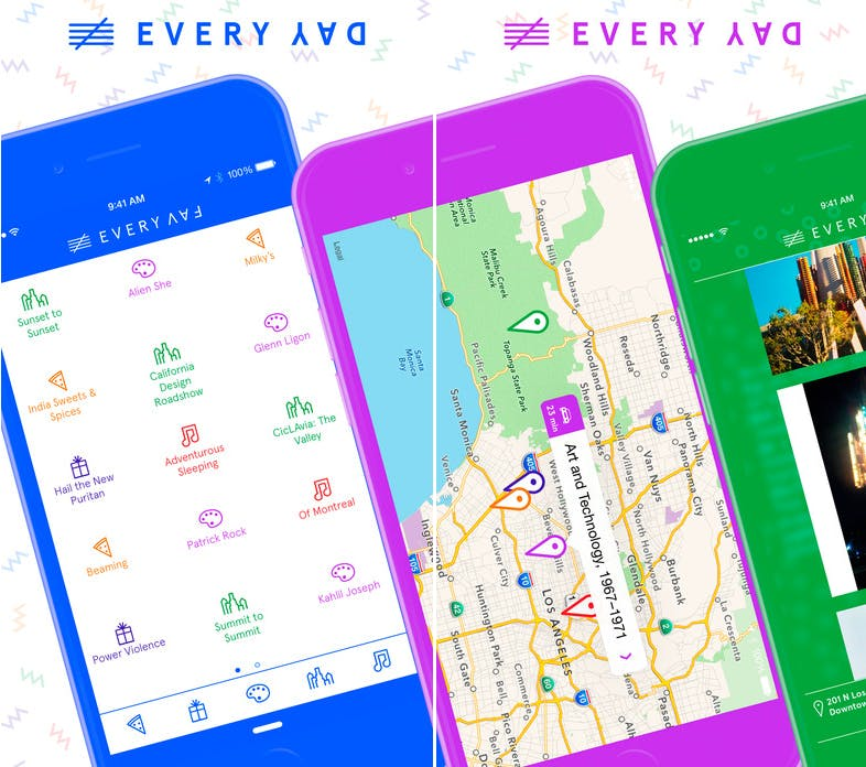 every day la 2017 apps