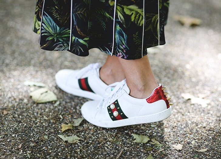 fashion trends fancy sneakers
