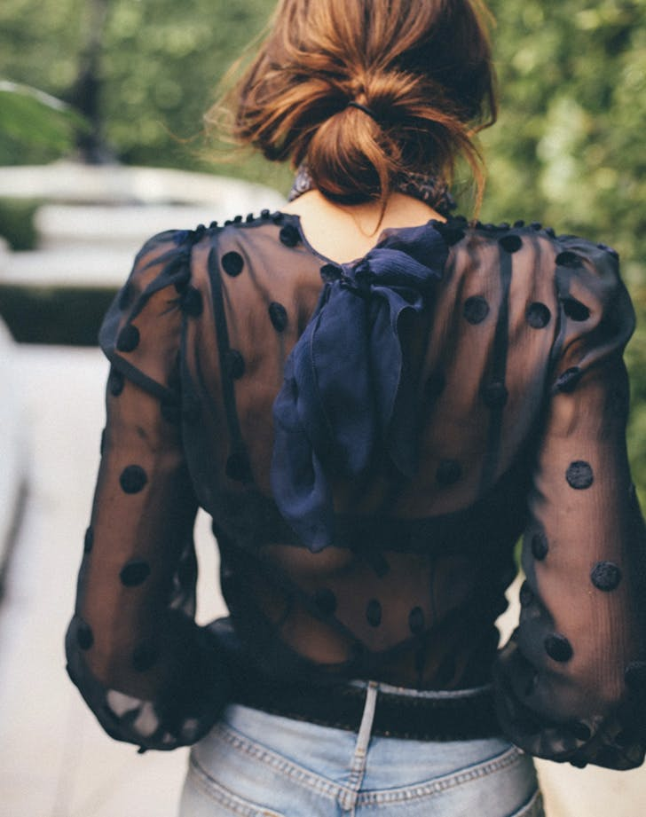 fashion trends sheer top