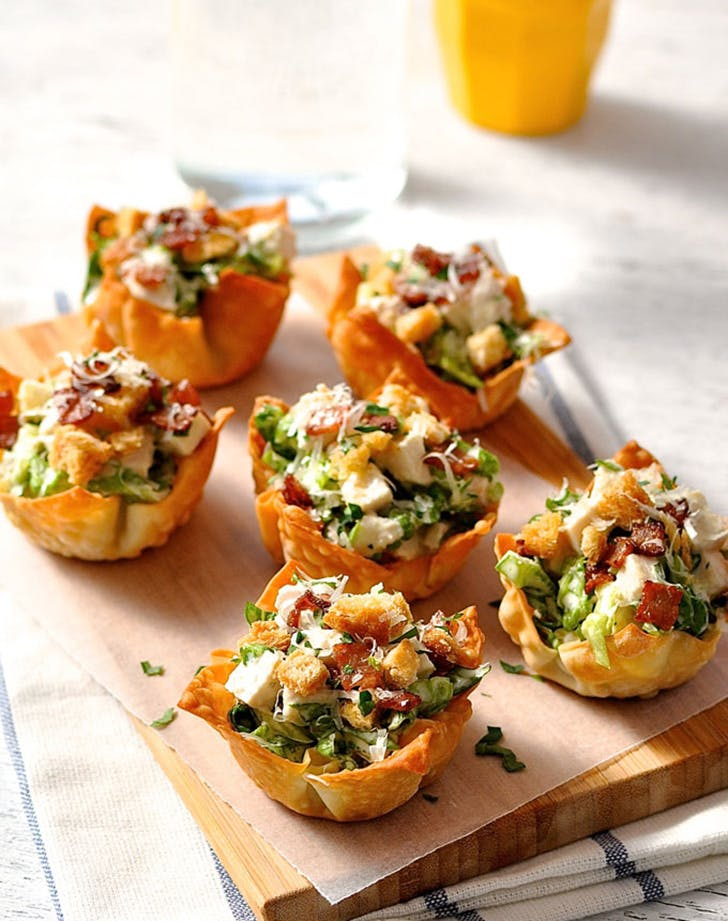 game day snacks saladcups