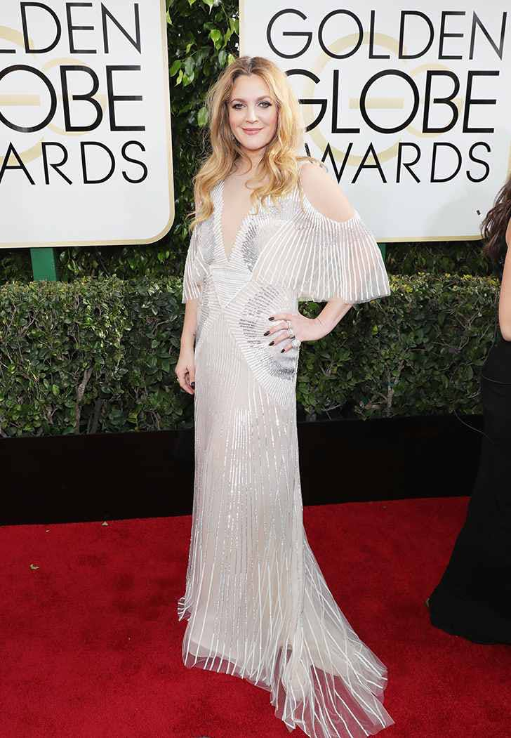 golden globes 2017 drew barrymore