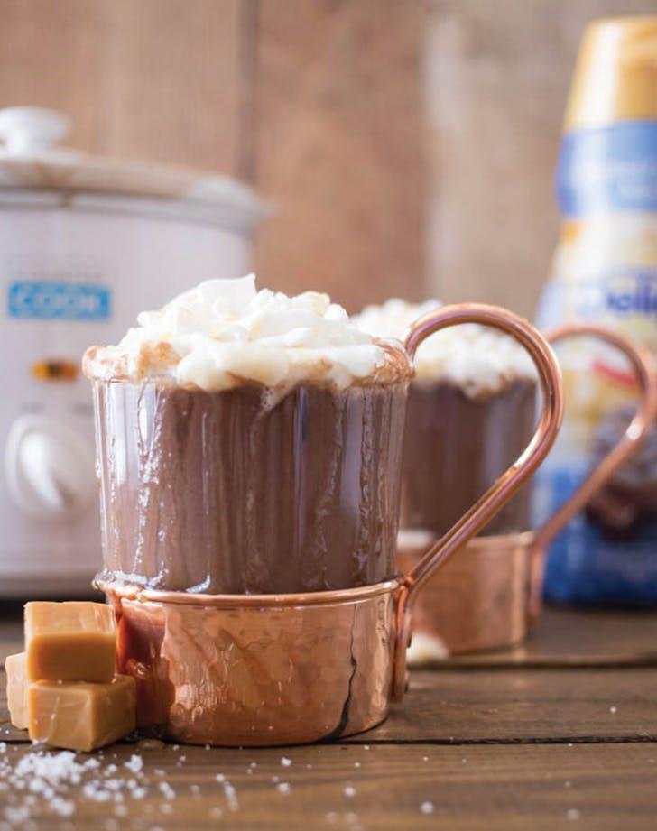 hot chocolate caramel