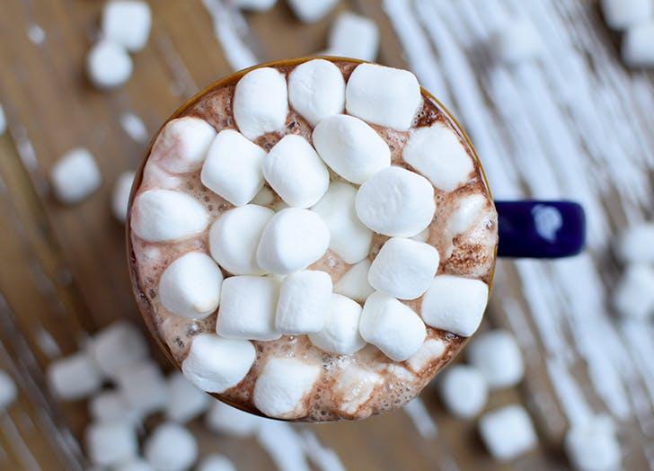 hot chocolate nutella