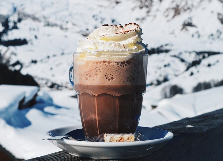 hot chocolate peanutbutter