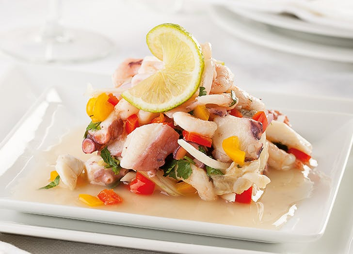 international food ceviche