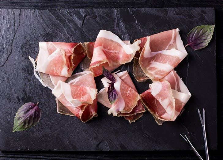 international food prosciutto