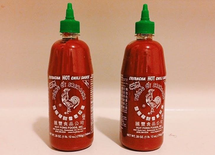 international foods sriracha