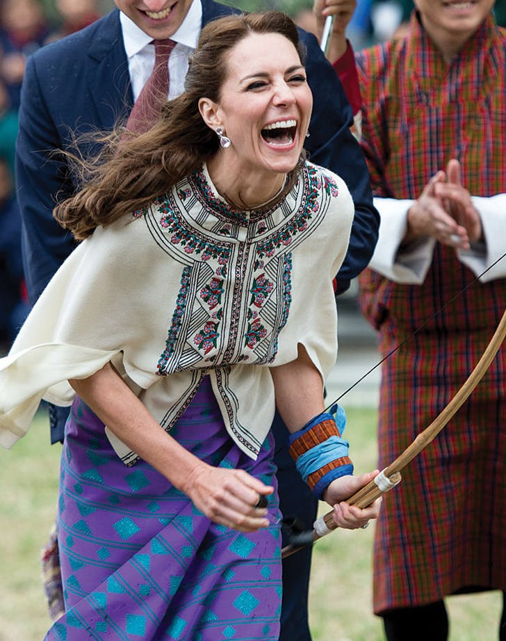 kate middleton laugh