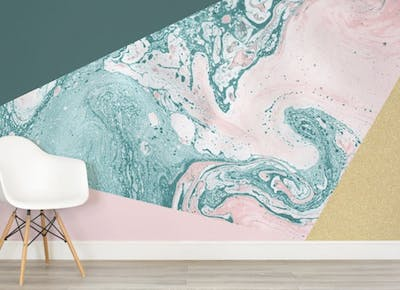 Marble Wallpaper Home Decor Trend Purewow