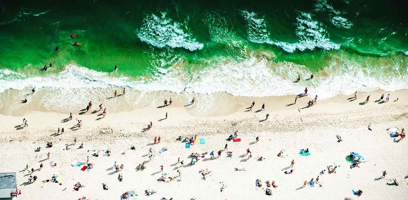 miami beach aerial NY getaways