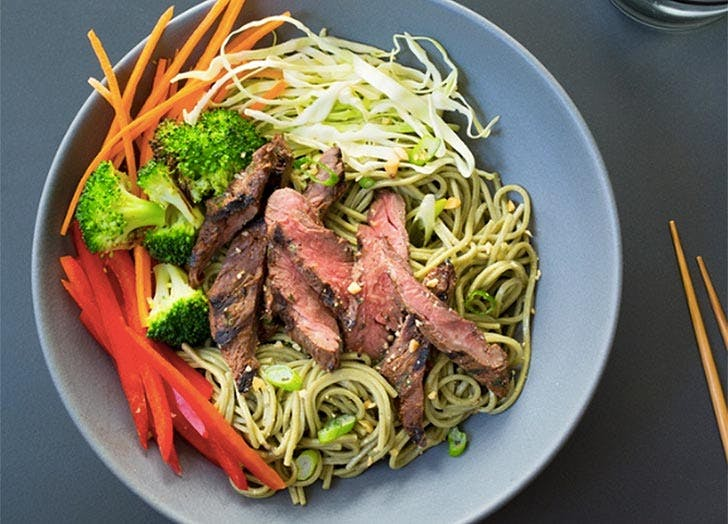 munchery steak soba bowl nyc delivery