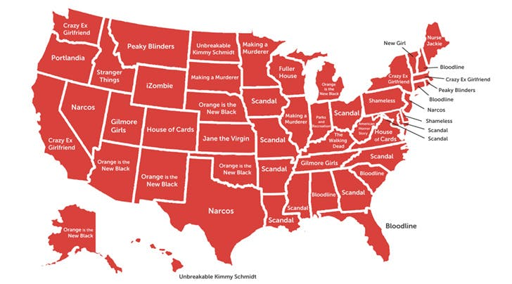 The Most Popular Show on Netflix in Every Single State