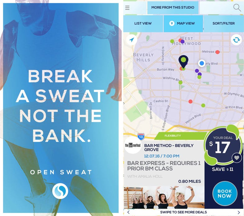 open sweat la 2017 apps