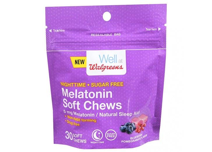 sleep items melatonin