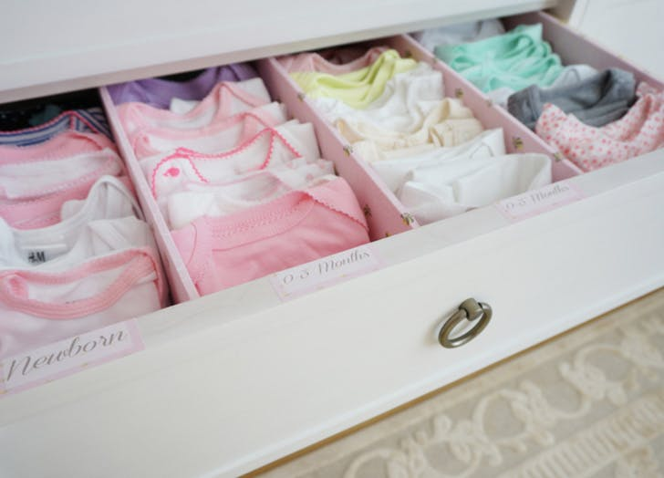 small nurdery drawers