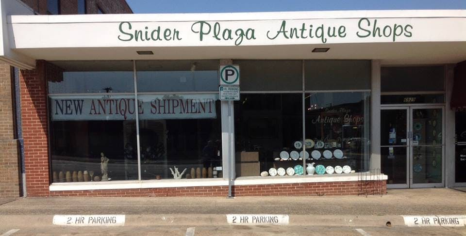 snider plaza dallas antiques