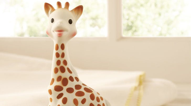 Welp, Sophie the Giraffe Might Be Filled With Mold