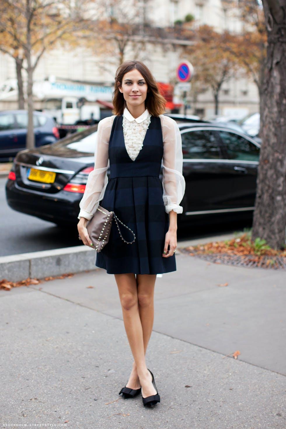 sss alexa chung dresslayering